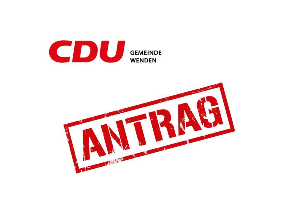 CDU fordert: Planungsoffensive für Bauplätze, Transparenz zu Schulbaukonzepten, Informationen zu Fördermitteln